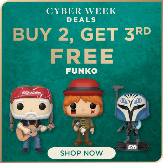 Funko Now Buy 2, Get 3rd Free!