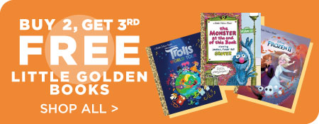 Shop All Little Golden Books, Now Buy 2, Get 3rd Free!
