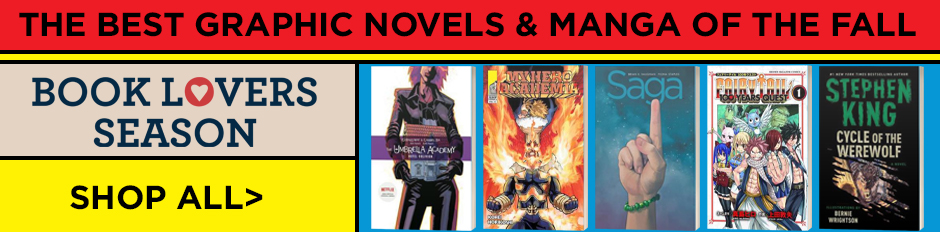 Shop the Fall Picks for Graphic Novels and Manga