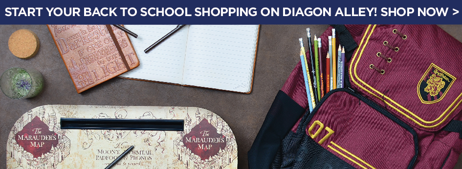 Start Your Back to School Shopping on Diagon Alley! Shop Now!