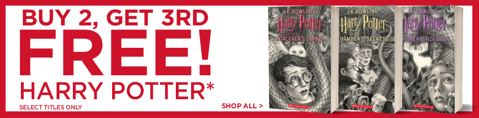Buy 2, Get 3rd Free on Select Harry Potter Books! Shop Now!