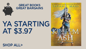 Shop More YA Starting at $3.97!