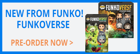 New from Funkoverse - Pre Order Now!