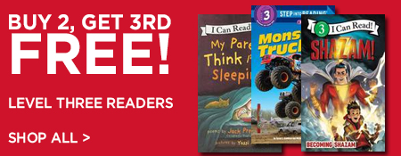 Shop Buy 2, Get 3rd Free on Level Three Readers