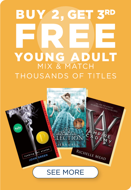 Shop All YA Fiction Buy 2, Get 3rd Free!