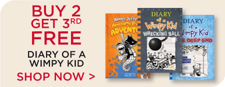 Diary of a Wimpy Kid Series Now Buy 2, Get 3rd Free! Shop All
