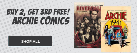 Shop All Buy 2 Get 3rd Free Archie Comics