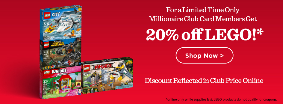 Shop 20% off LEGO Sets Below!
