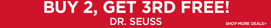 Buy 2, Get 3rd Free on Dr Seuss Books - Shop More Deals!
