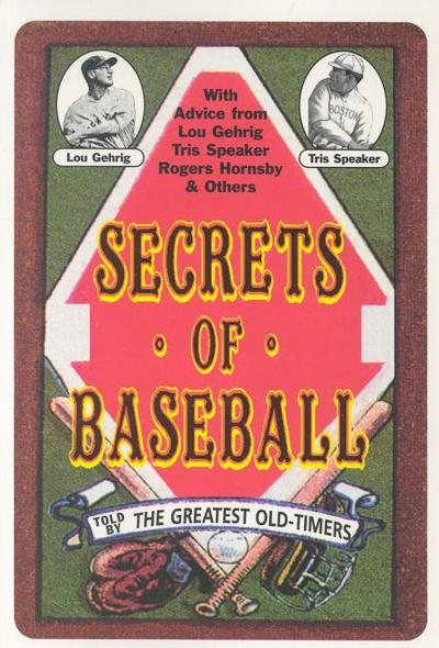 Secrets of Baseball - Applewood Books - Paperback at Booksamillion