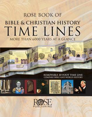 Rose Book of Bible & Christian History Time Lines - Rose Publishing - Hardcover at Booksamillion