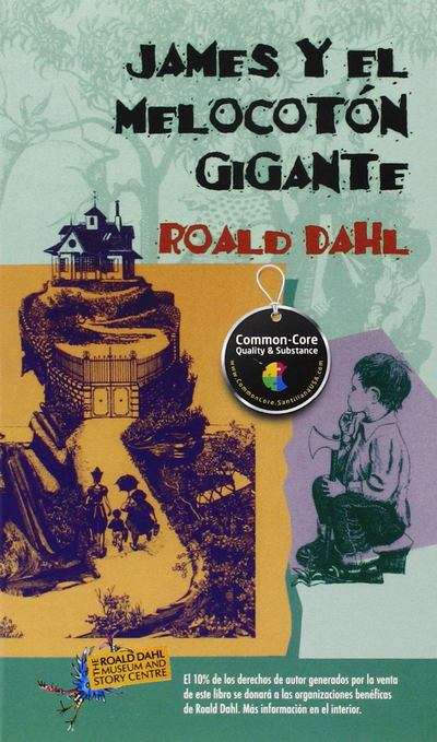 James y El Melocoton Gigante/James and the Giant Peach - Roald Dahl - Paperback - Spanish at Booksamillion
