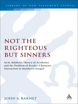Not the Righteous but Sinners|John Barnet