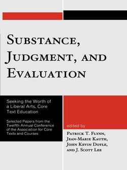 Substance, Judgment, and Evaluation|Patrick T. Flynn