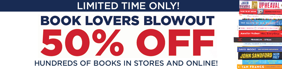 FFor a Limited Time You Can Get 50% Off Hundreds of Books In Stores & Online!  Shop Now!