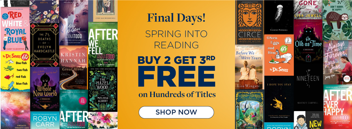 Shop Our Spring Reading Sale Now