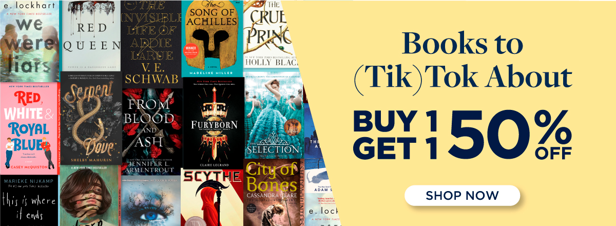 Buy 1, Get 1 50% off the Best Books of TikTok! Shop Now