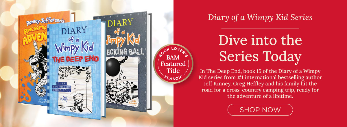 Dive into Diary of a Wimpy Kid, Now Buy 2, Get 3rd Free