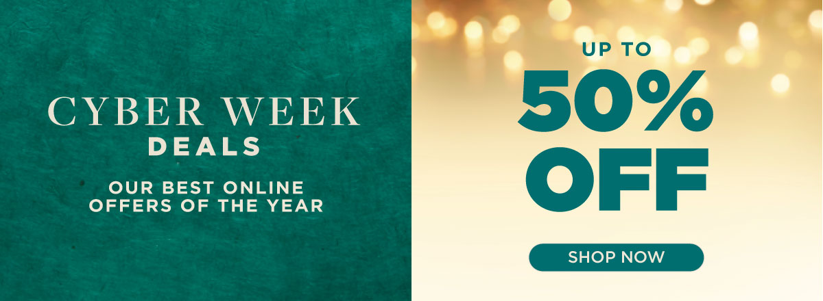 Shop Cyber Week Deals Now!