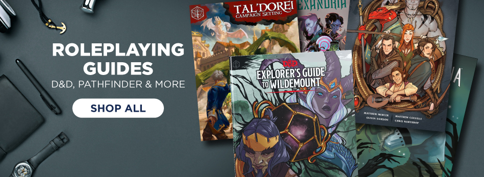 Start Your Quest Today, Shop All Roleplaying Guides