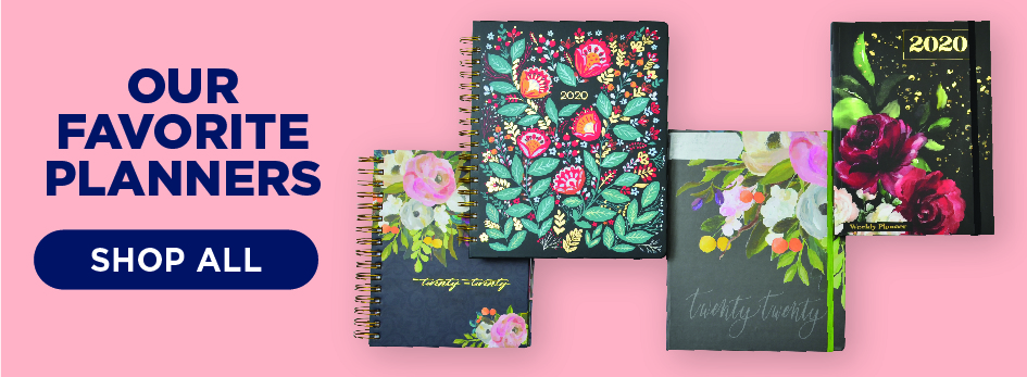 Make a Plan with Our Selection of Calendars & Planners