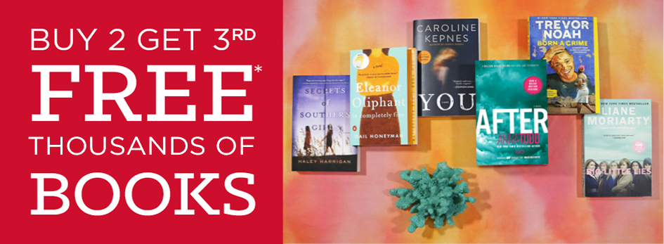 Shop Buy 2,Get 3rd Free on Hundreds of Books!