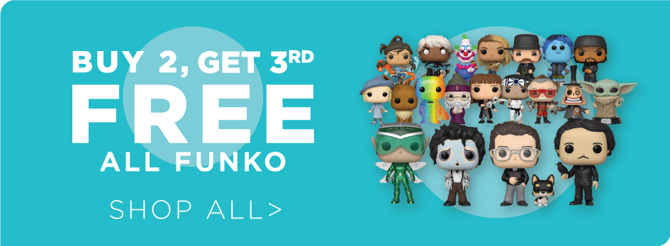 Shop All Buy 2 Get 3rd Free Funko