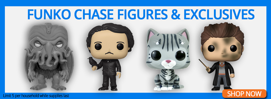 Shop All Exclusives and Chase Figures