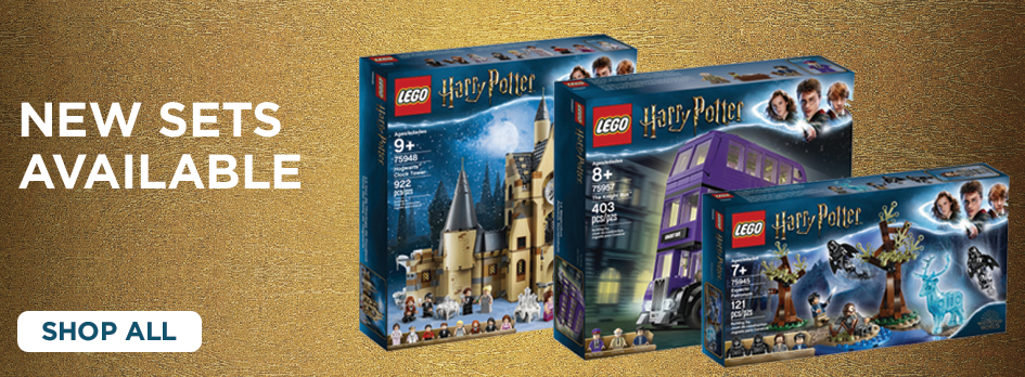 Shop The New Harry Potter LEGO Sets Now!