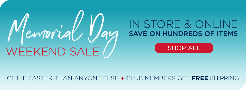 Save on Hundreds of Items in Stores and Online! Shop Now