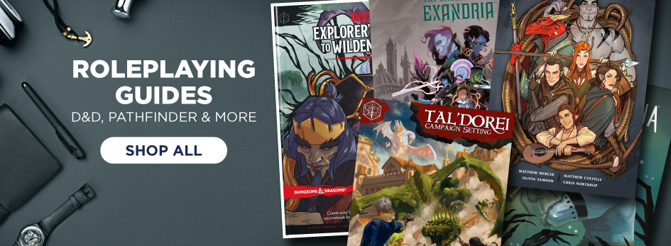 Shop Roleplaying Guides & More Now!