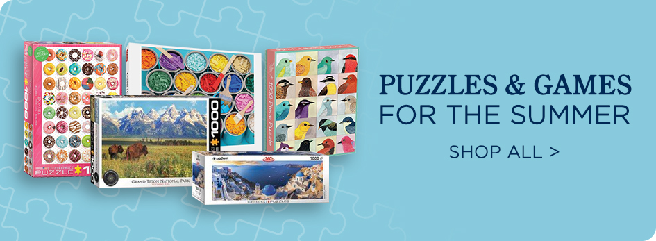 Shop All Summer Puzzles & Games