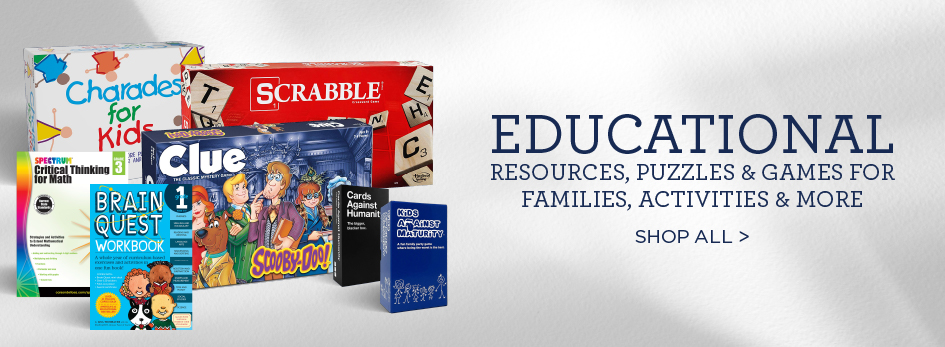 BAM! Is Your Stay at Home Headquarters!  Shop Our Selection of Educational Resources, Games & Puzzles, Activities and More! Shop All