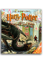 Coming This Fall - Harry Potter and the Goblet of Fire Illustrated Edition!
